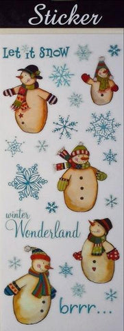 Let it Snow / Winter Wonderland Stickers