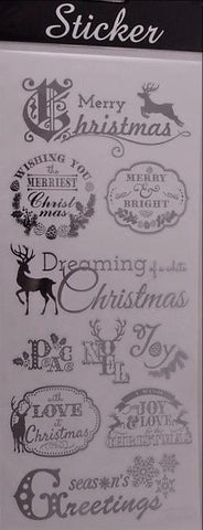 Dreaming of a White Christmas Sticker Pack
