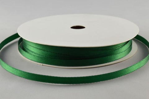 3mm Green Double Sided Satin x 10 Metre Rolls!!