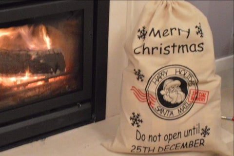 Merry Christmas Hanging Gift Sack!
