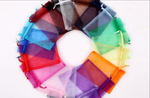 Coloured Organza bags (12 Bags per Pack)
