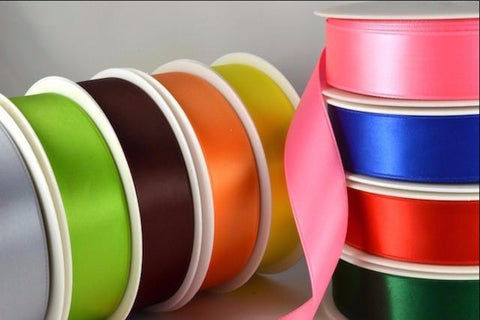 3mm Double Faced Satin Ribbon x 50 Metre Rolls!!