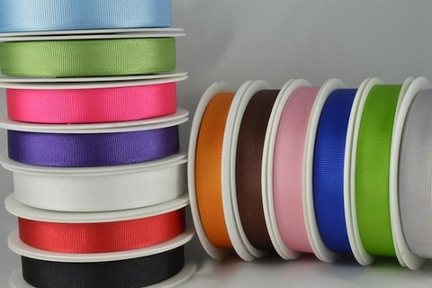 6mm Grosgrain Ribbon x 20 Metre Rolls!