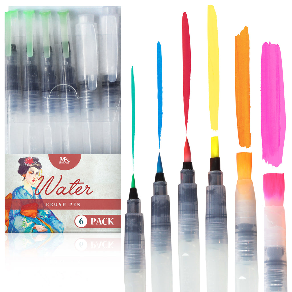 Water Brush Pen Set 4