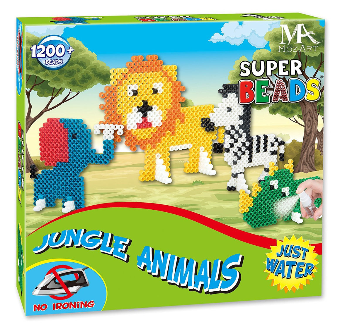 Super Bead Play Set - Jungle edition