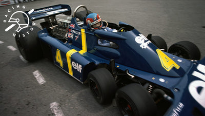 WHEN 6 WHEELS WERE BETTER THAN 4 - TYRRELL P34