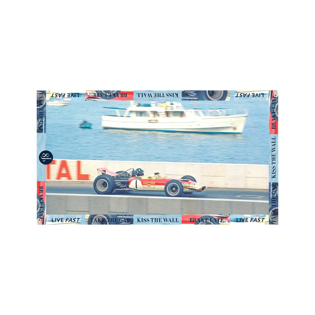 SC41. PHOTO SCARF MONACO - 8JS