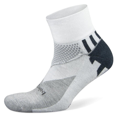 Balega Enduro V-Tech Quarter Socks, White (Medium)