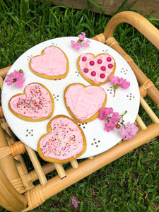 Valentine's Day Recipe: Heart-shaped plant-based butter cookies