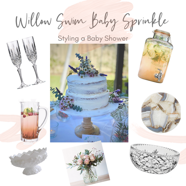 How to style a baby shower