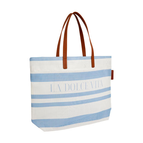LUXE MESH BEACH BAG IN DOLCE CLASSIC