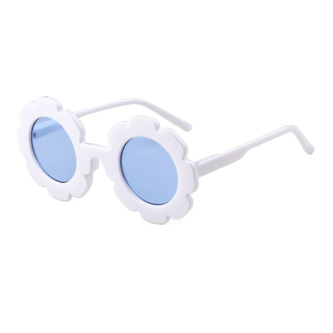 Willow Swim Lulu girls sunglasses in Blue Bird