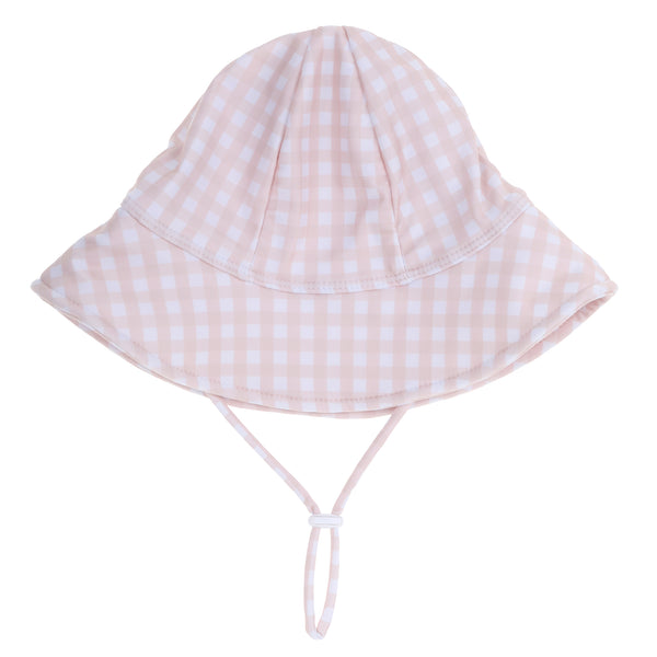 """Harriet"" in Peachy Gingham"