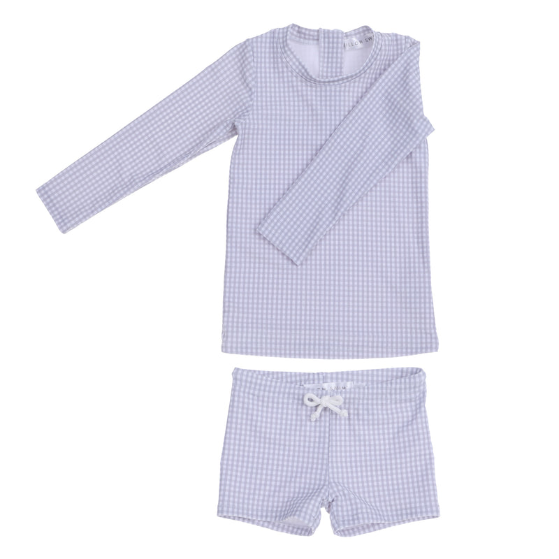 """Harrison"" in Cloud Gingham"