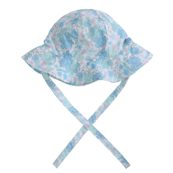 Willow Swim Frankie hat in Spring Florals