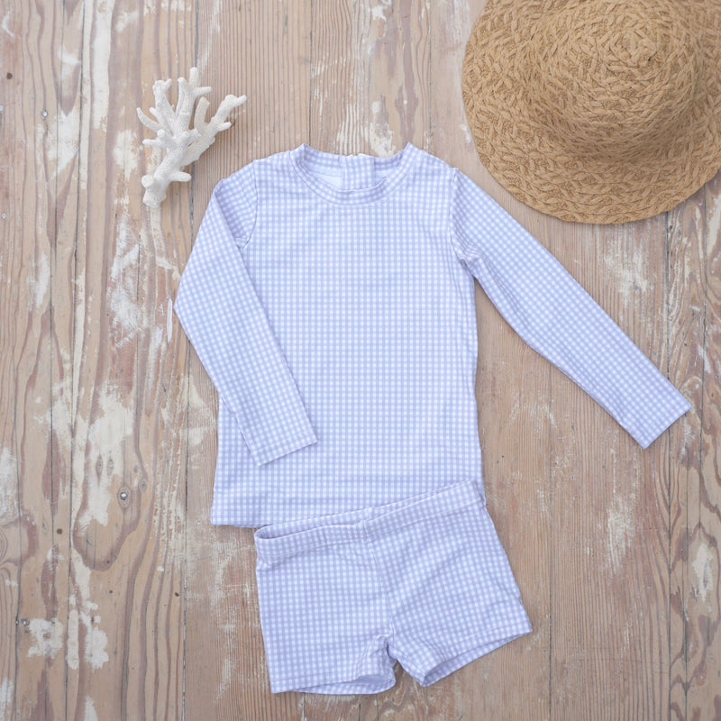 "IMPERFECT ""Harrison"" in Cloud Gingham"