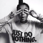 'Just Do Nothing' Sweatshirt