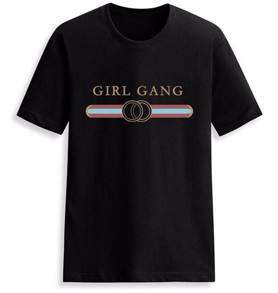 Girl Gang Gold Tee