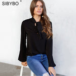 Sibybo Long Sleeve Blouse