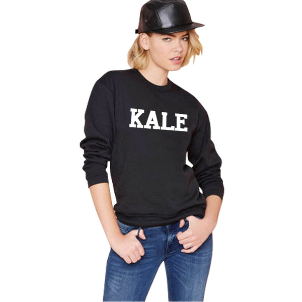 Black KALE Sweatshirts