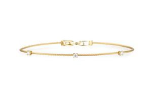 9k Yellow gold Stylish bracelet