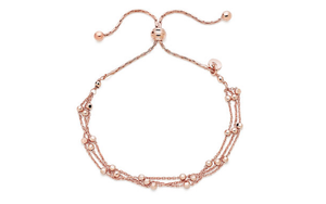 10k Rose gold Stylish bracelet