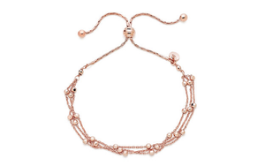 9k Rose gold Stylish bracelet