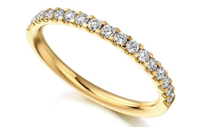 10k yellow gold wedding ring