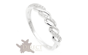 18k white gold Celtic Ring