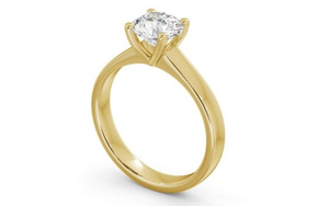 9k yellow gold Engagement Ring