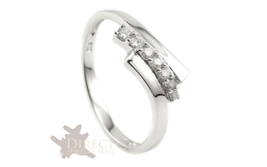 18k White gold Stylish Ring