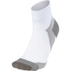 Arch Support Quarter Socks - White X Gray