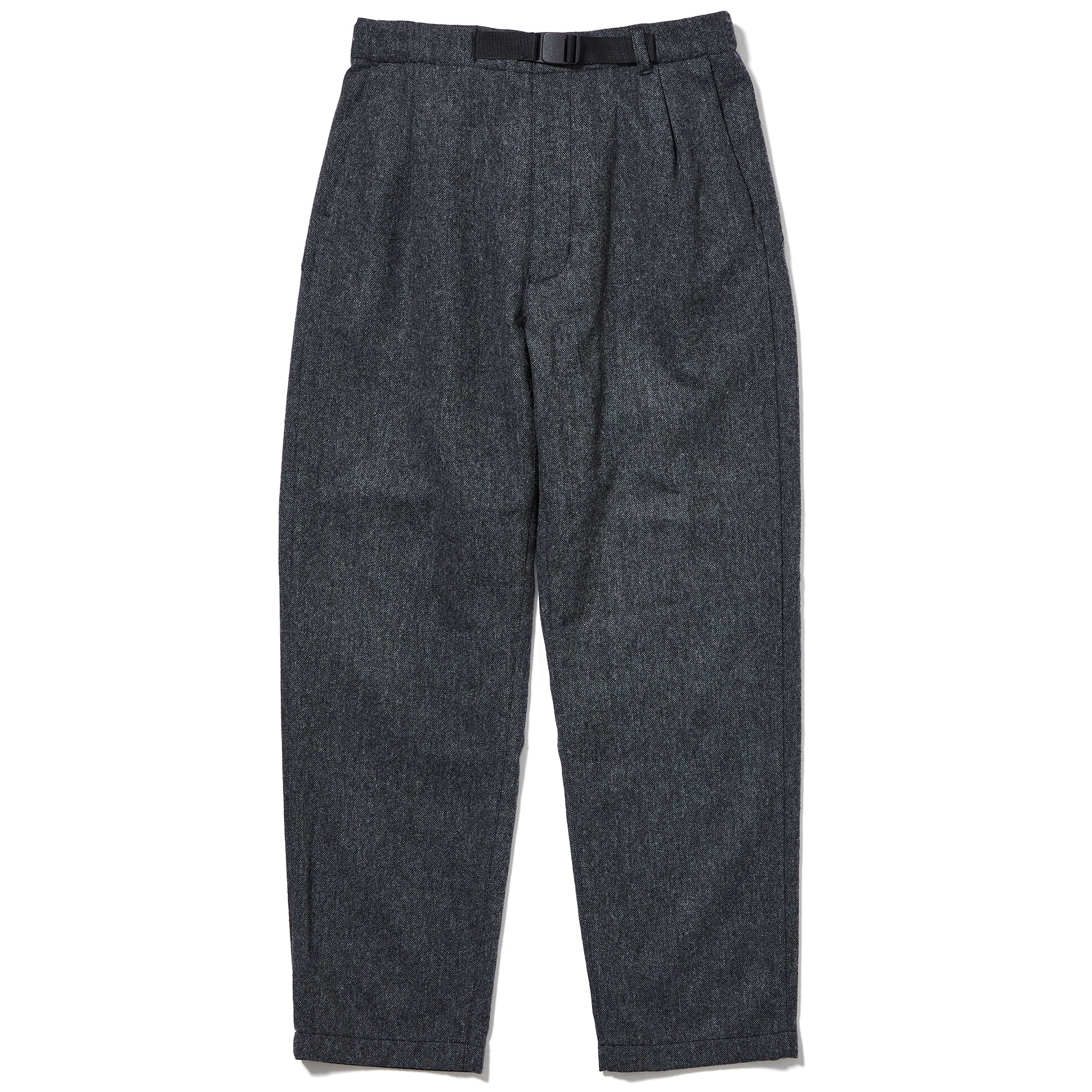 Combat Wool Tuck Tapered Pants