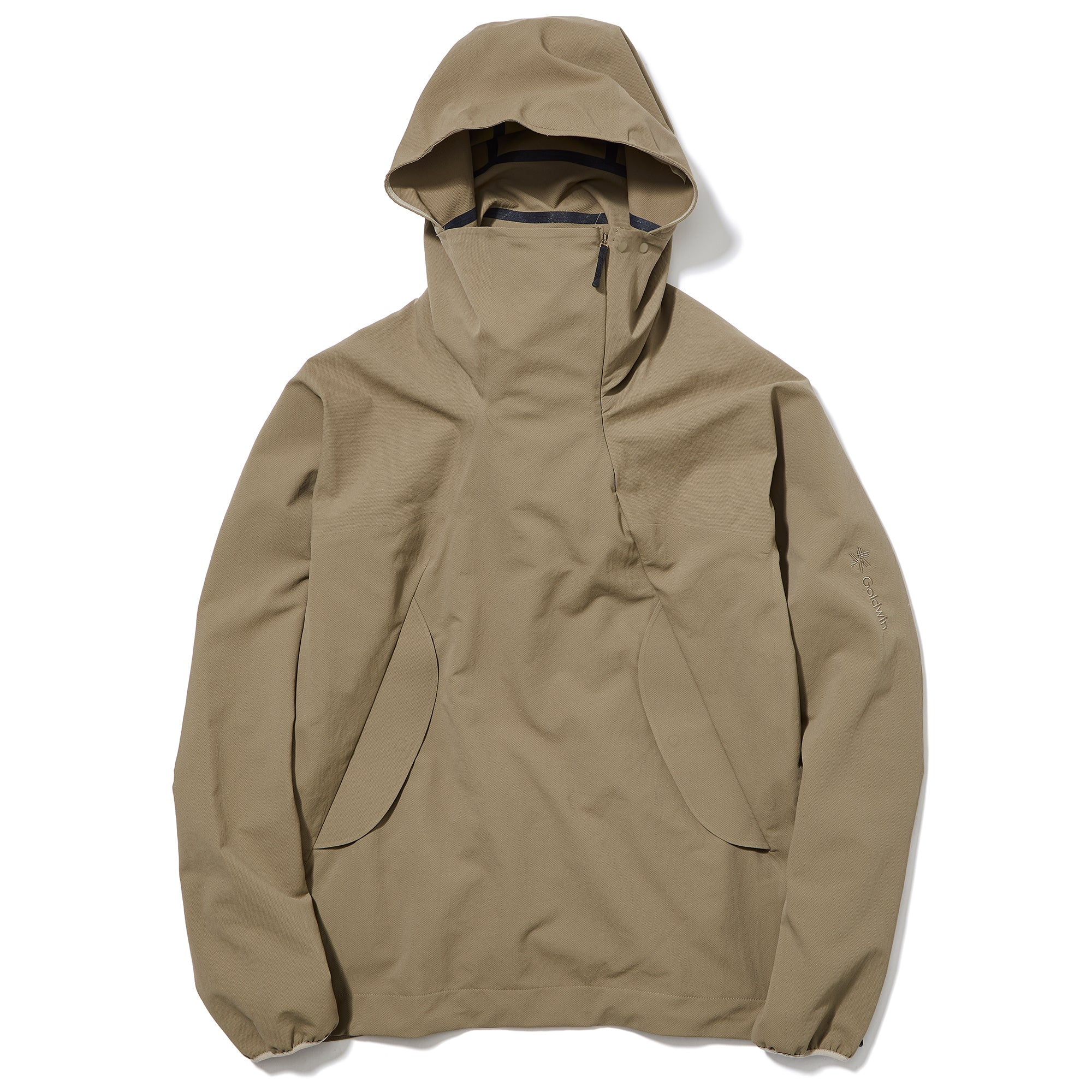 Hooded Spur Light Pullover