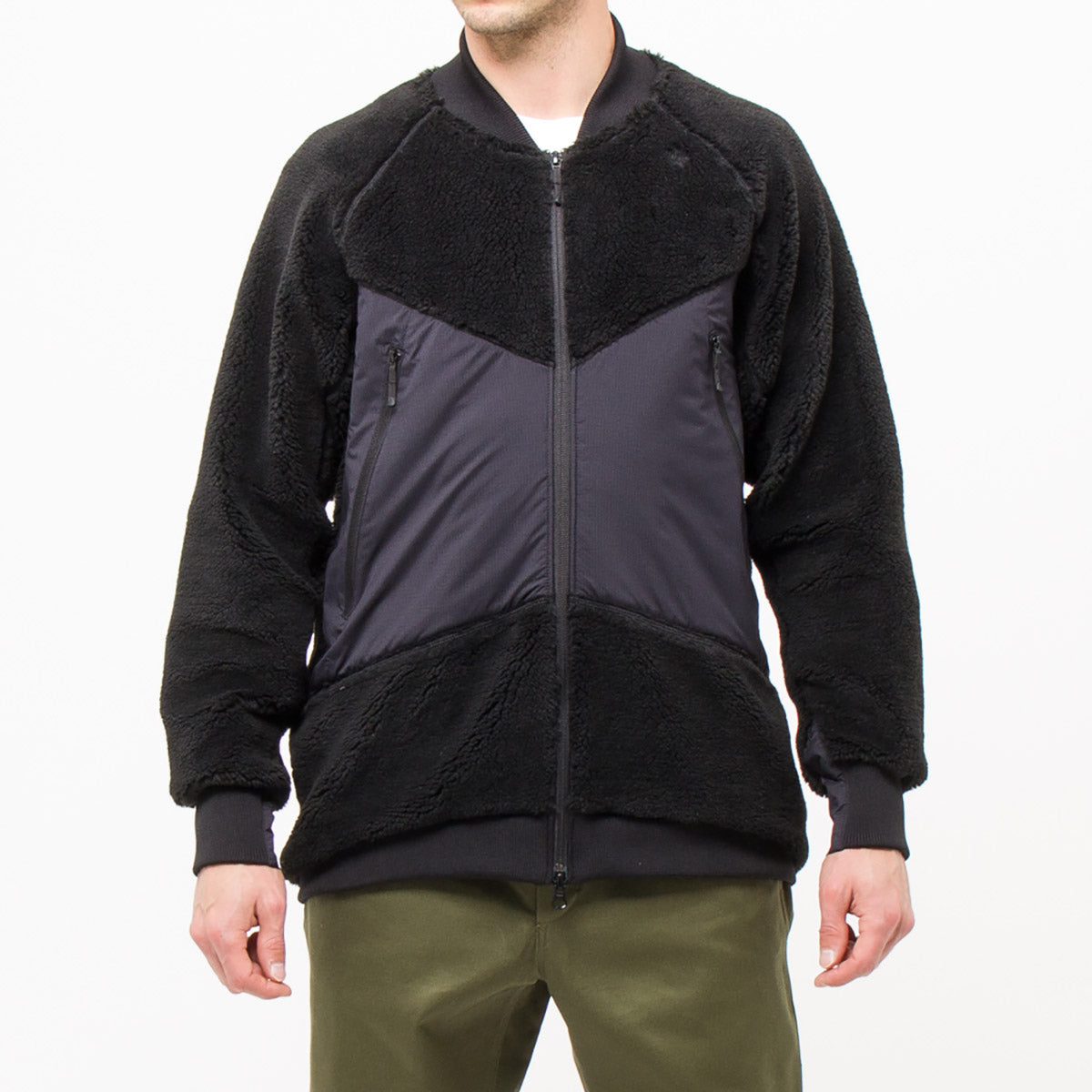 FRONT ZIP FLEECE