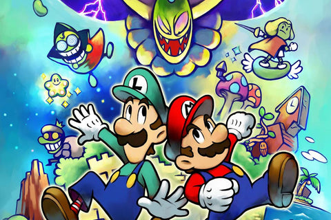 mario and luigi super star saga