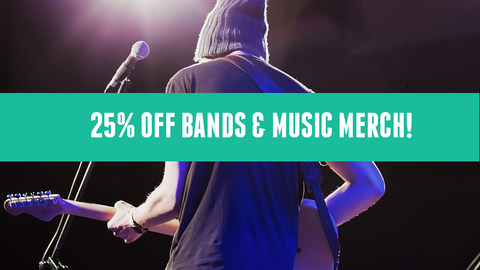 bands and music sale december