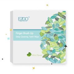EZGO 100pcs Deep Cleaning Teeth Wipes