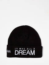 IT WAS ALL A DREAM WOOL BEANIE