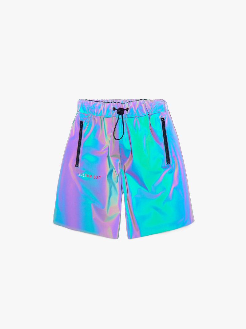 GOD IS GREAT MEN REFLECTIVE SHORTS