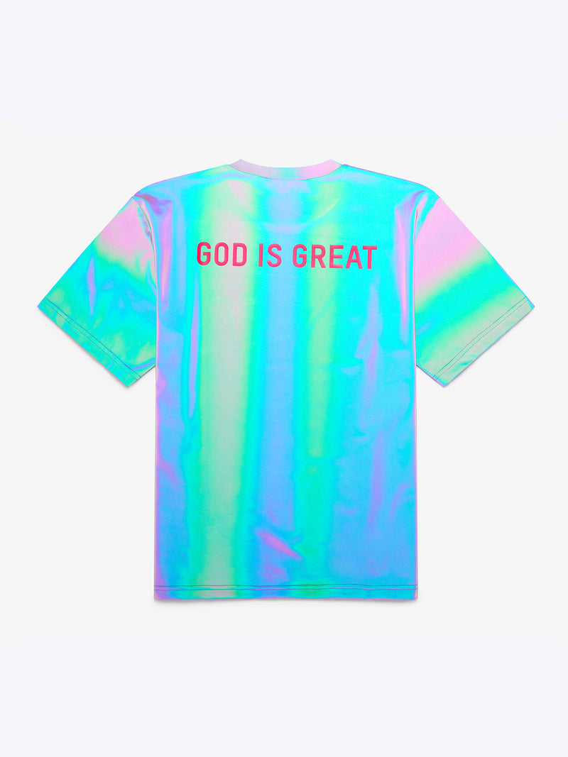 GOD IS GREAT Unisex reflective T-shirt