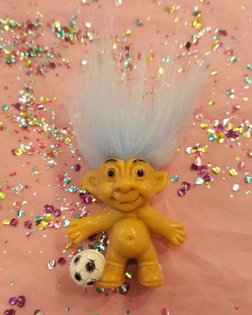 Just BeKuz - Soccer Troll Earring