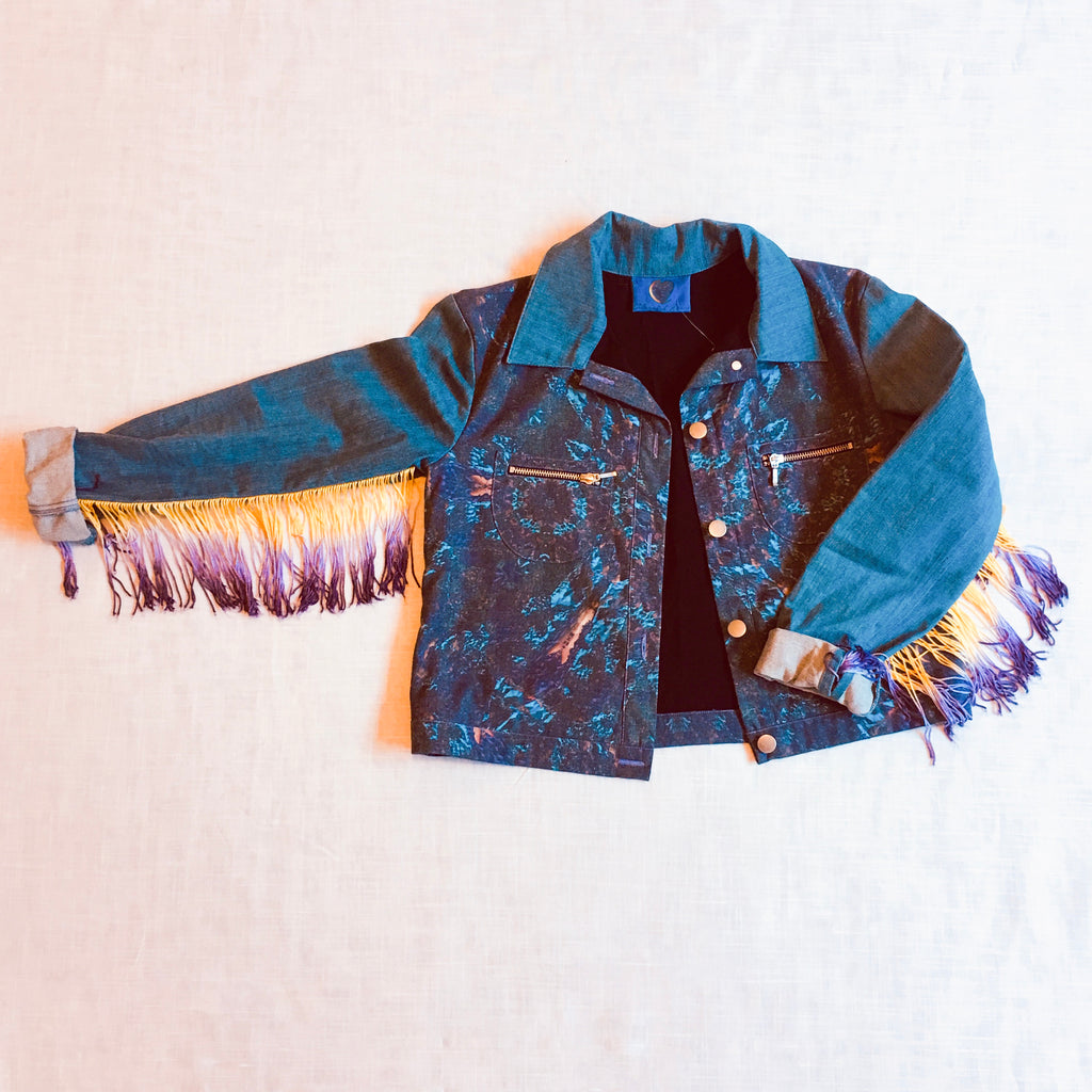 Liberated Heart Ombre Fringe Jacket