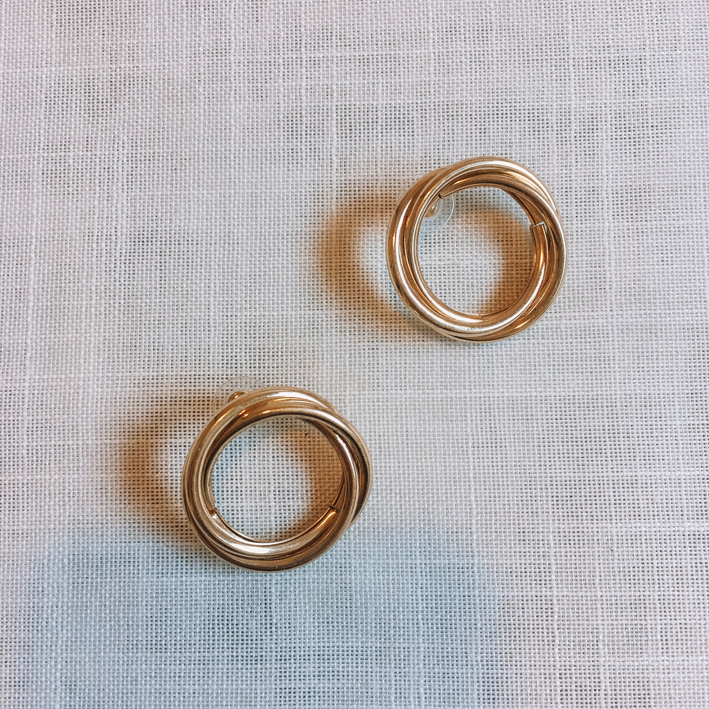 Circular Hoop Earrings