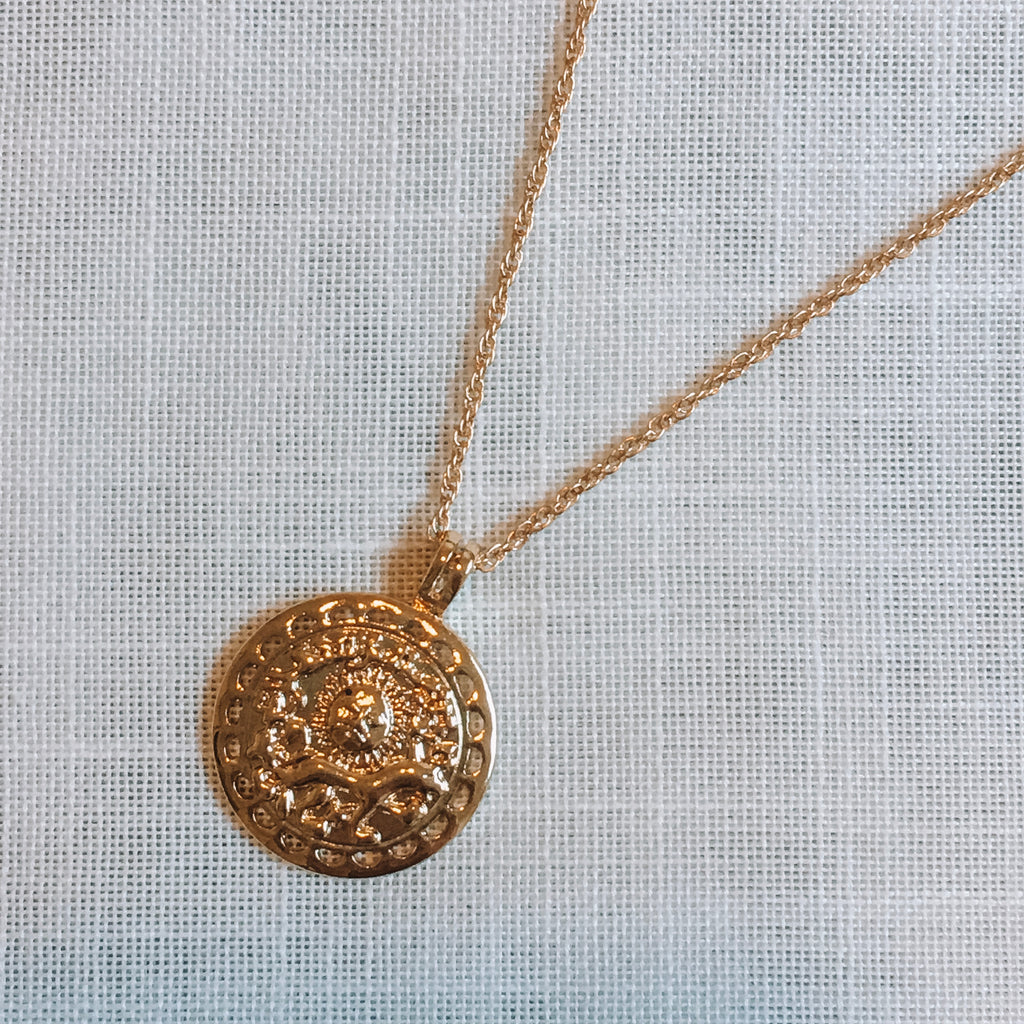 Horoscope Coin Necklace