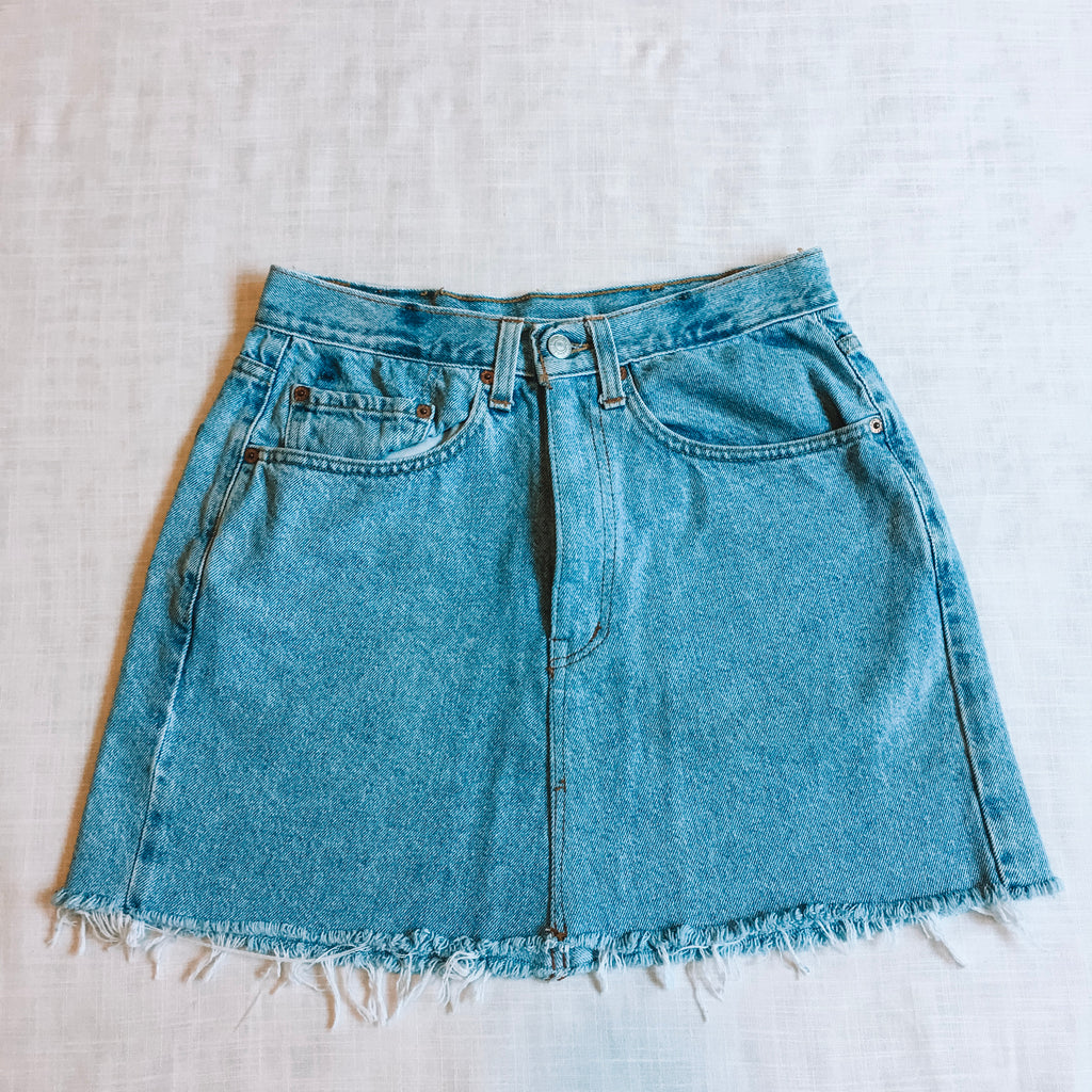 Denim Levi Skirt
