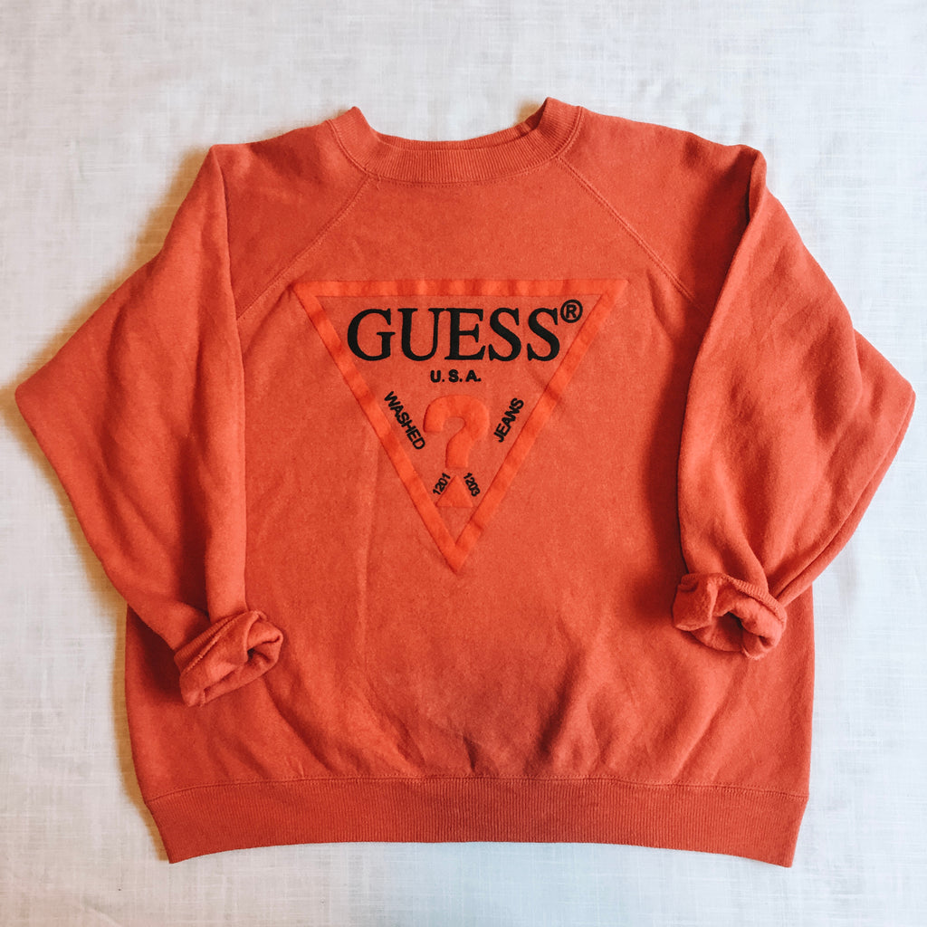 Guess Coral Sweatshirt