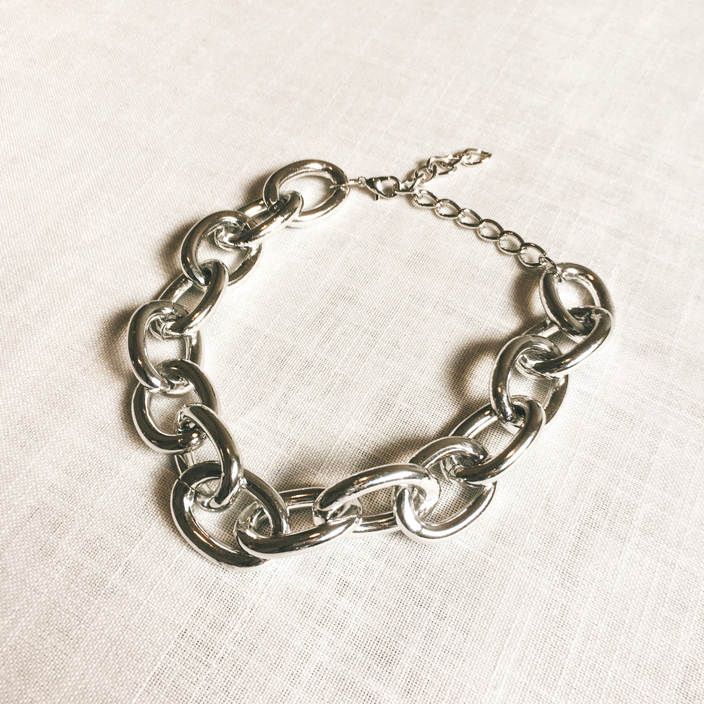 Metal Large Chain Choker