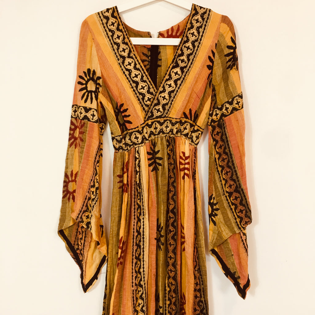 MIMI ELASHIRY - 70s HIPPY DRESS