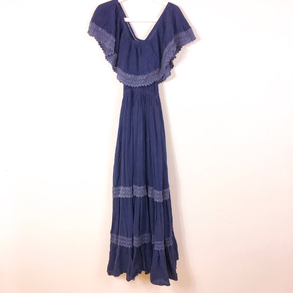 VINTAGE COTTON MAXI DRESS